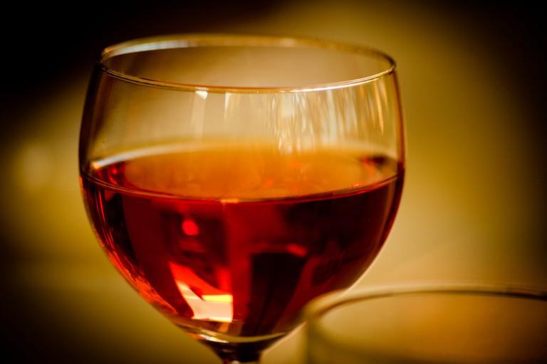 A glass of French wine   ©Jeremy Atkinson / Flickr