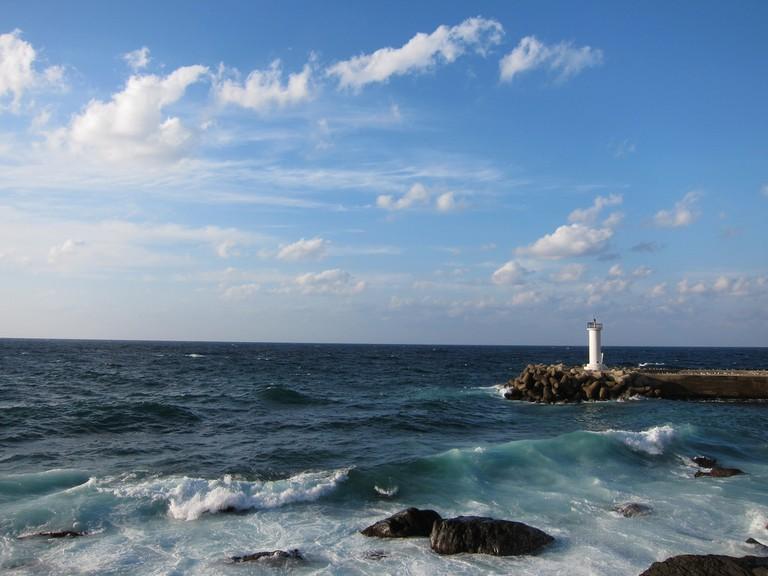Lighthouse near Cheonbu, Ulleungdo