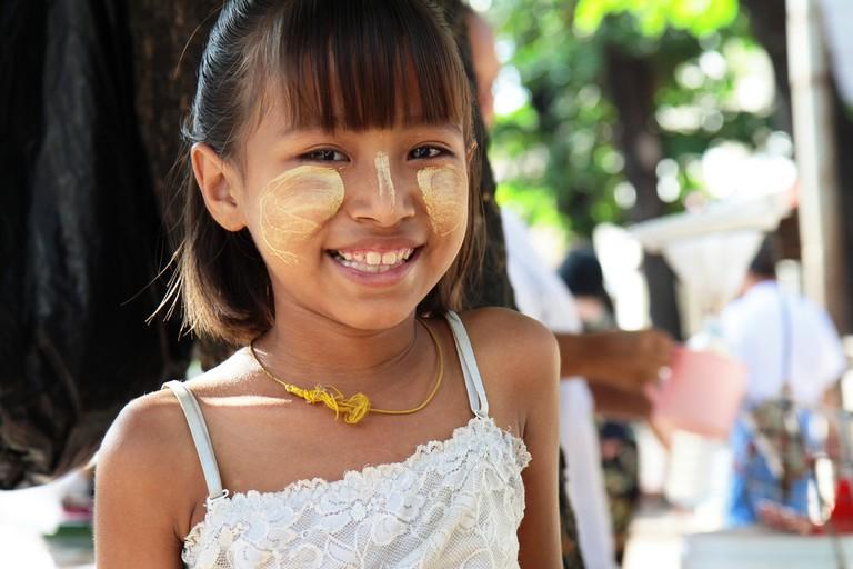 Girl in Yangon | © Stefan Munder