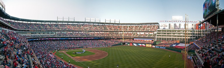 Global Life Park, formerly known as the Ballpark in Arlington
