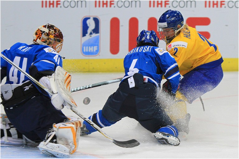 Finland vs. Sweden at the IIHF World Championships 2011/ Becaro/ Flickr