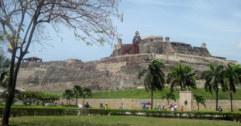 Castillo San Felipe, Cartagena, Colombia © Roger. W / Flickr