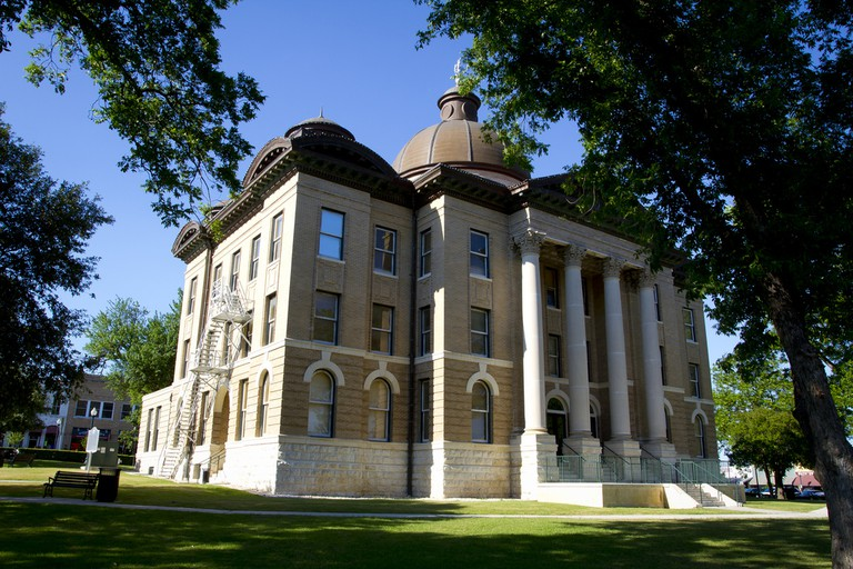 The Hays County Courthouse