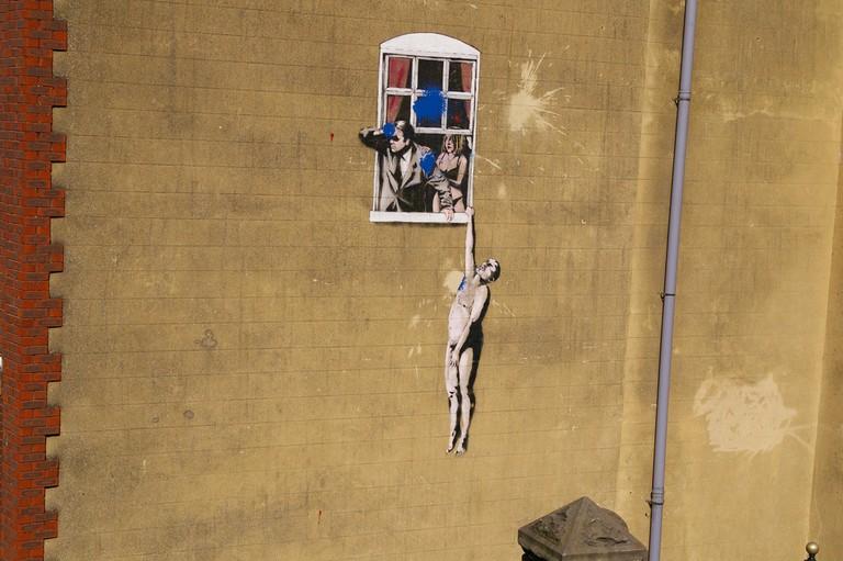 Banksy, Bristol|©lindsayscott72/Flickr
