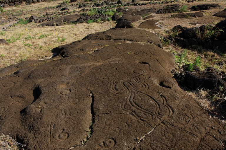 Petroglyphs of Easter Island