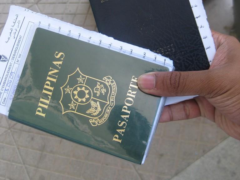 Philippines passport | © Jerick Parrone/Flickr