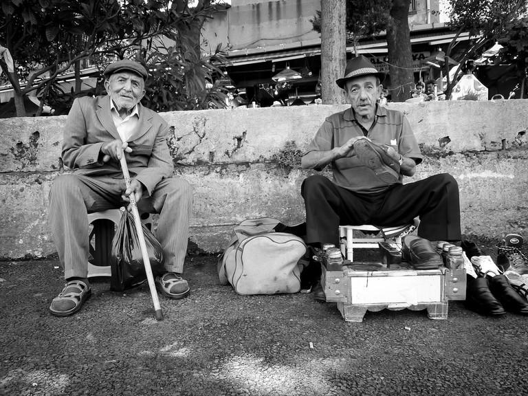 Two Turkish gentlemen