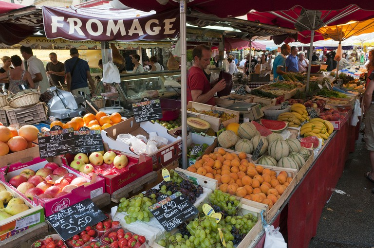 The daily market in Aix en Provence is open 365 days a year | © Anna & Michal/Flickr