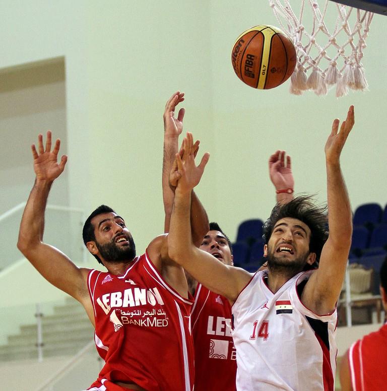 A friendly match between Lebanon and Syria   © Doha Stadium Plus Qatar /