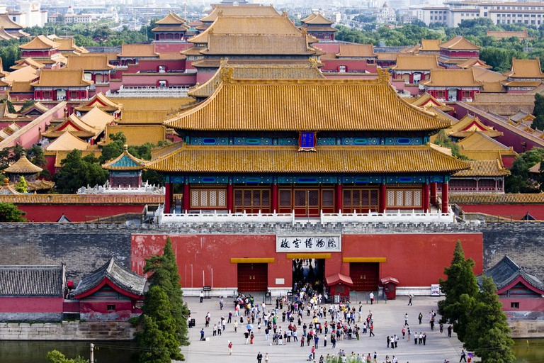 Overview of the Forbidden City