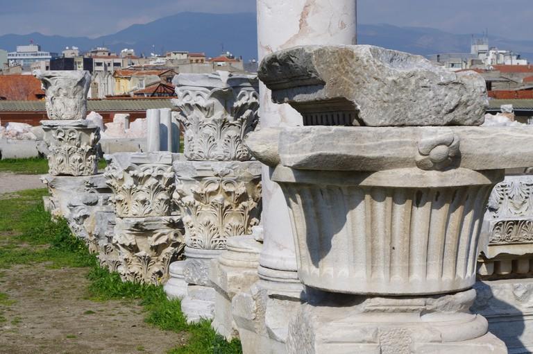 Capitals from Ancient Smyrna | © Ken & Nyetta/Flickr