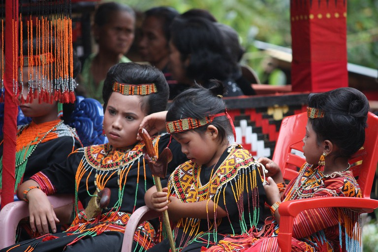 Indonesian ethnic group in Tanah Toraja | © Arian Zwegers / Flickr