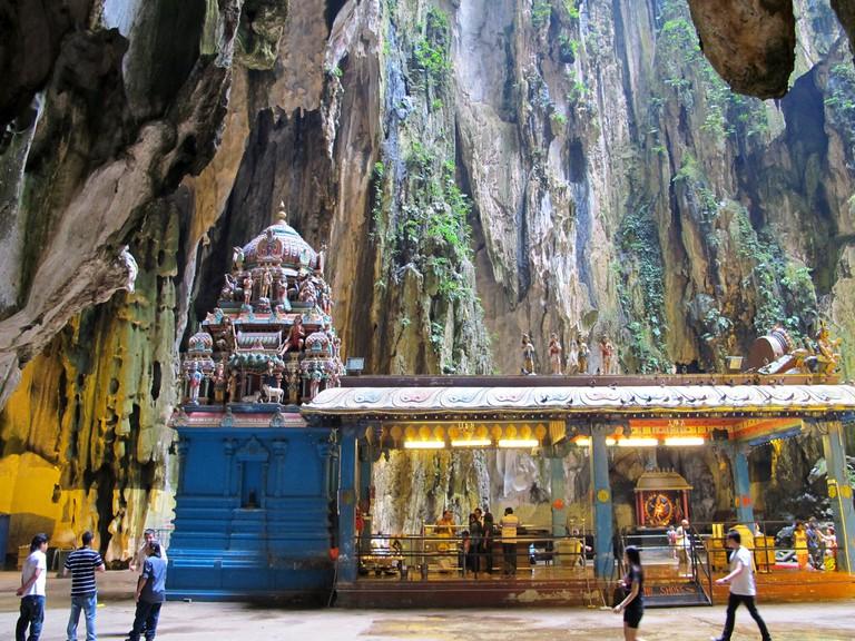 Free Things to Do in Kuala Lumpur, The Hindu Batu Caves | © David Davies