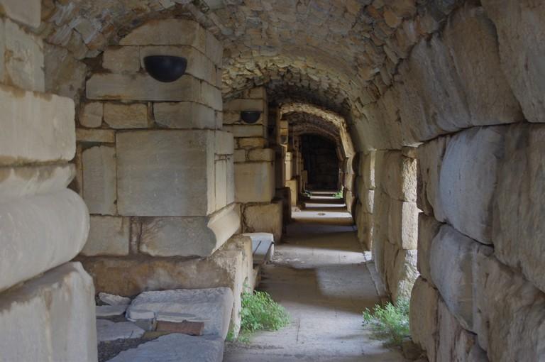 Interior Passage in Theater of Ephesus