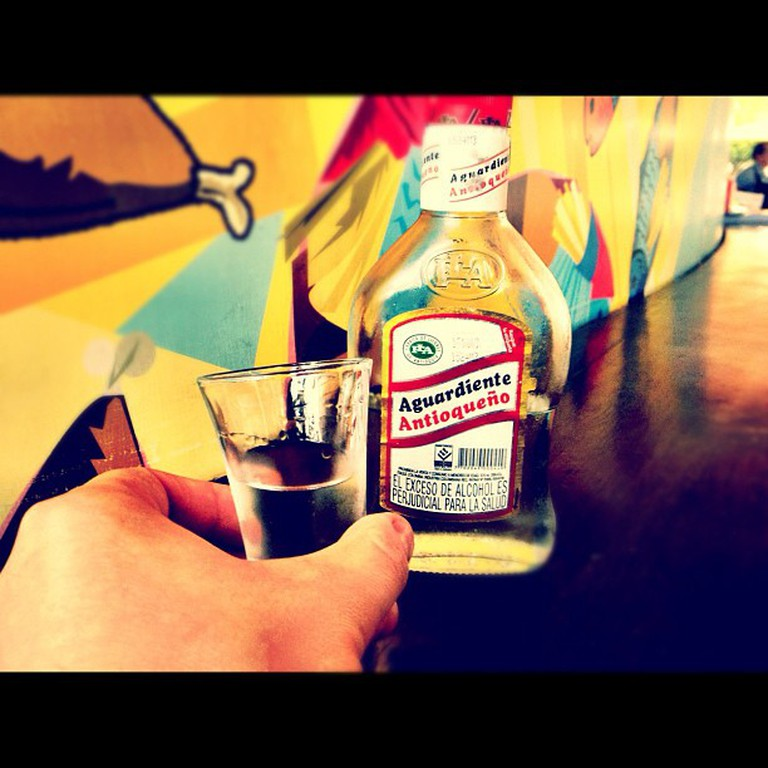 Colombian Aguardiente © Torrenegra / Flickr