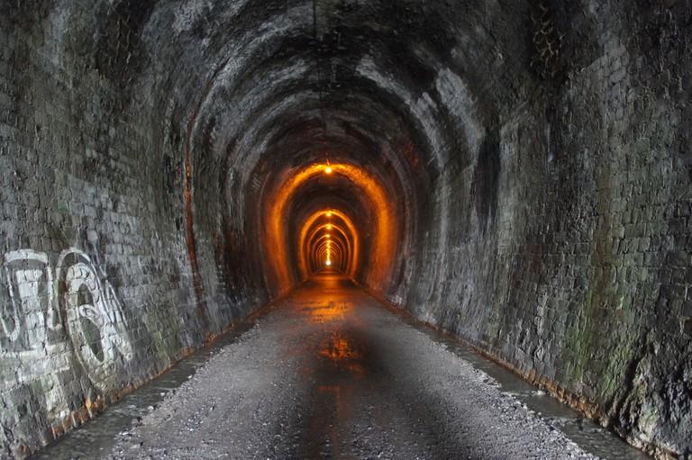 Karangahake Railway Tunnel