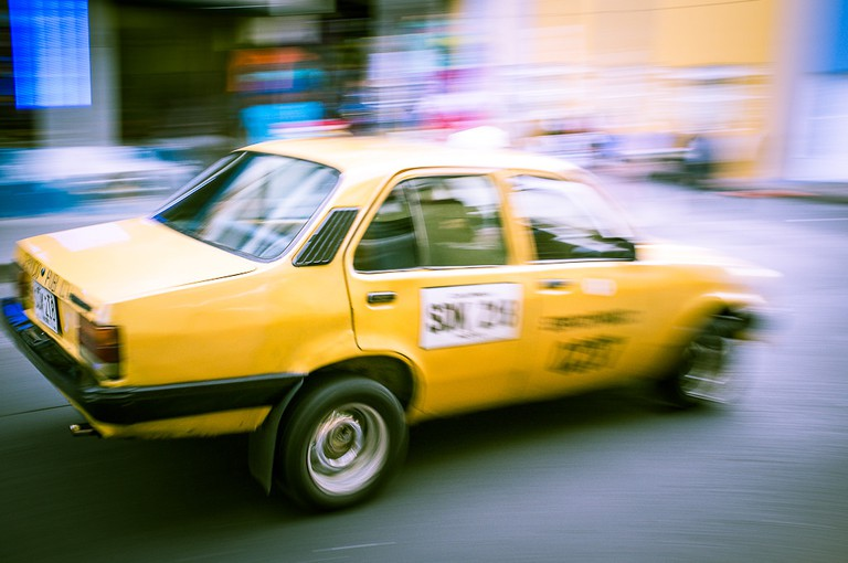 Colombia Taxi © Cedric Buffler / Flickr