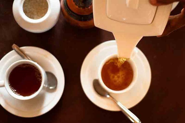 Sri Lankan tea ceremony