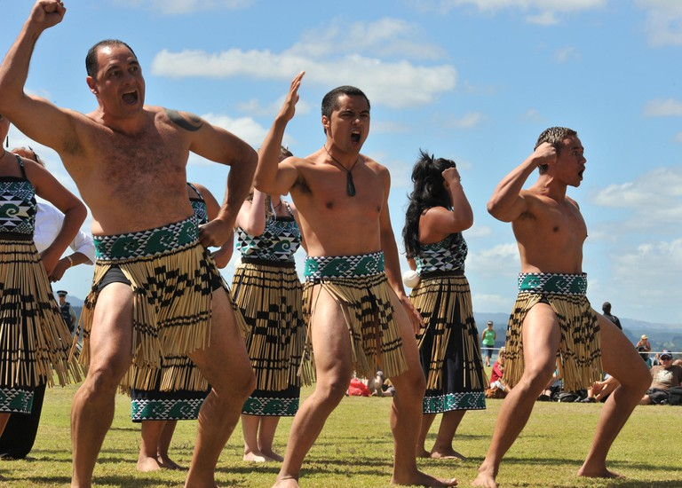 Navy Haka | © Royal New Zealand Navy/Flickr