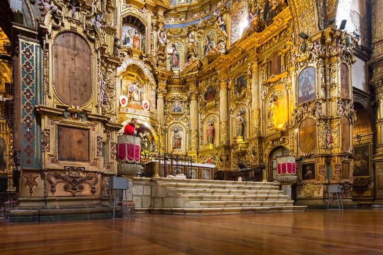 Compañía de Jesús Interior | © Jean-François Renaud / Flickr