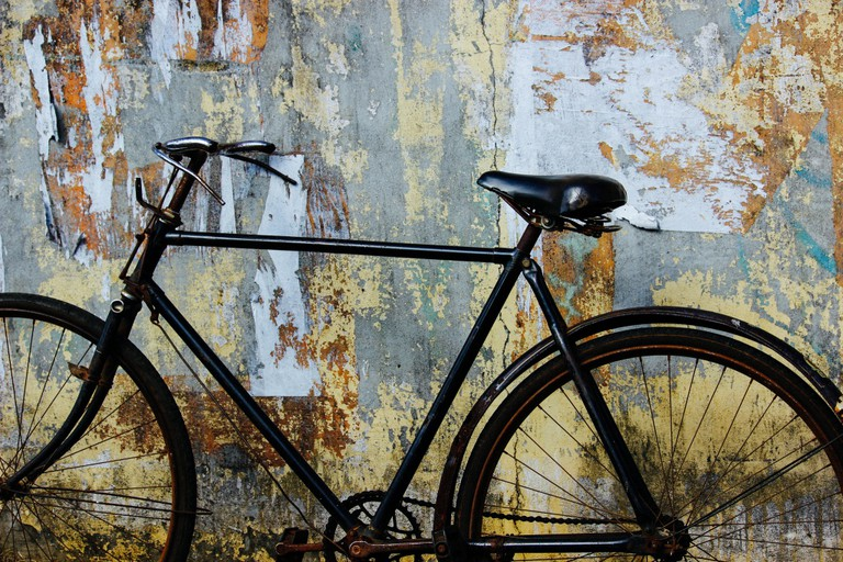 Vintage bicycle in Mauritius|© carrotmadman6/FlickR