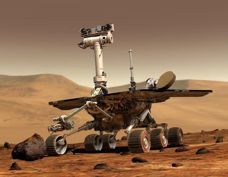 The Mars Rover | Courtesy of NASA