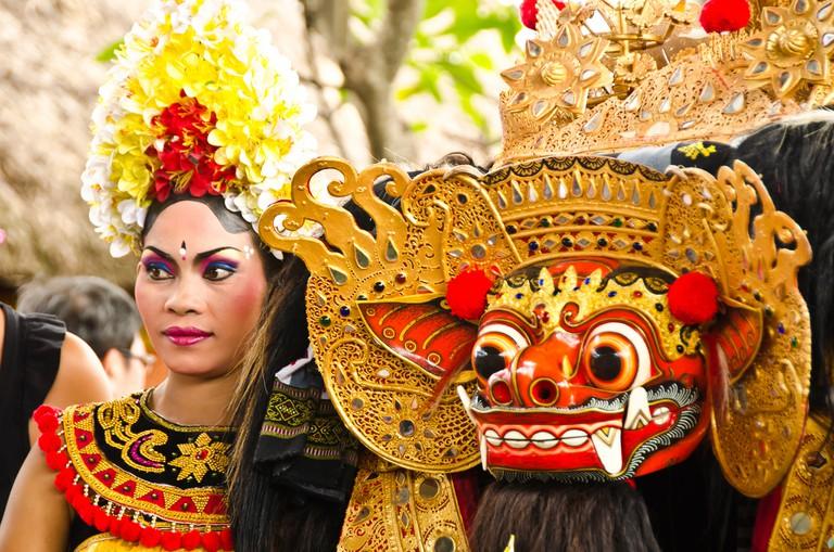Balinese dance performers