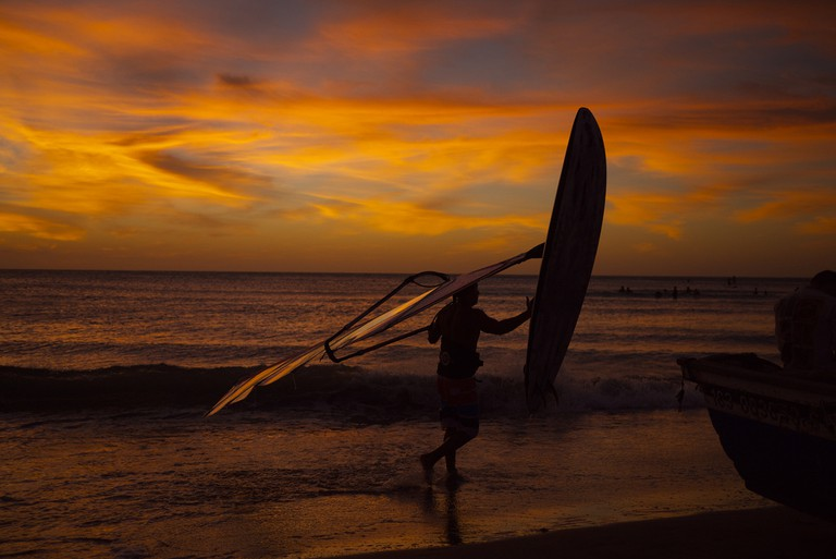 Wind surfing at Jericoacoara / ©Rosanetur / Flickr