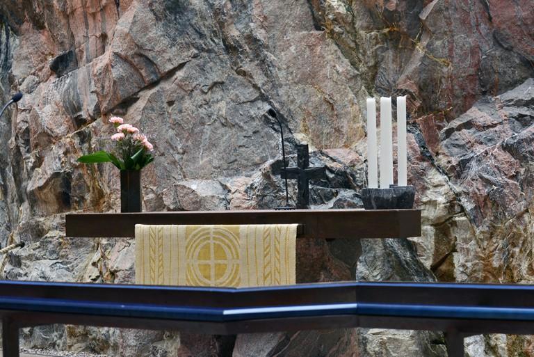 The church altar/ Harvey Barrison/ Flickr