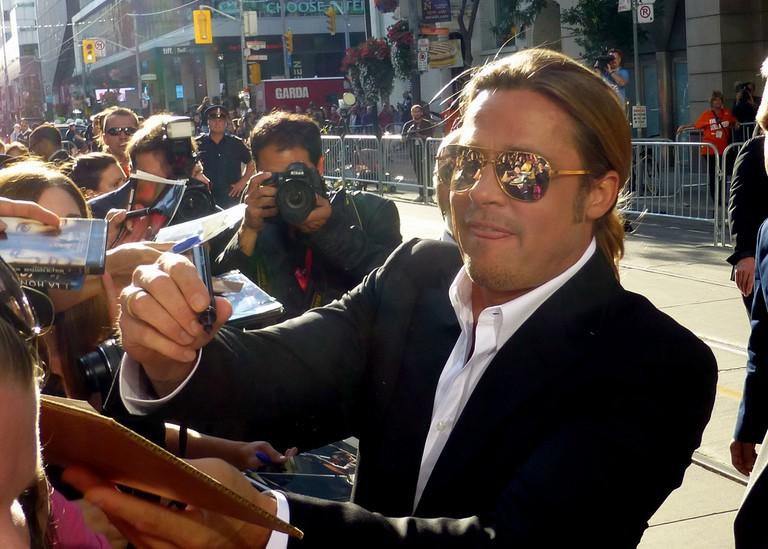 Brad Pitt at TIFF in 2013