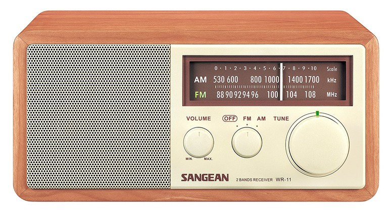 SANGEAN WR-11 AM/FM Table Top Radio, $80