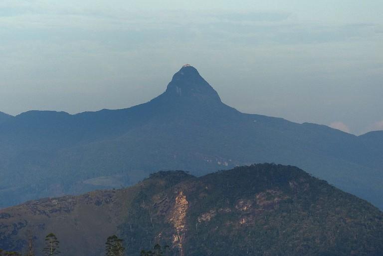 Adam's Peak | © Schnobby / Wikimedia Commons