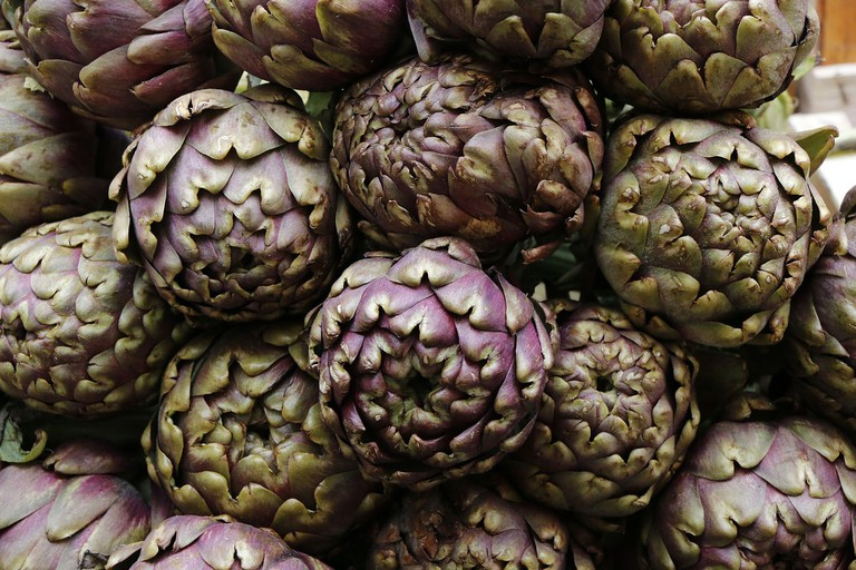 Romanesco artichokes | © pixabay https://pixabay.com/it/carciofi-verdure-mercato-cibo-779553/