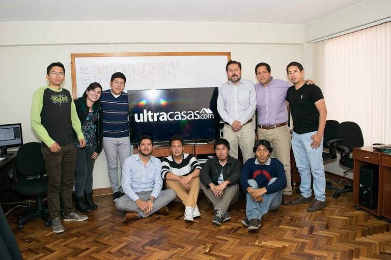 The team at Ultracasas