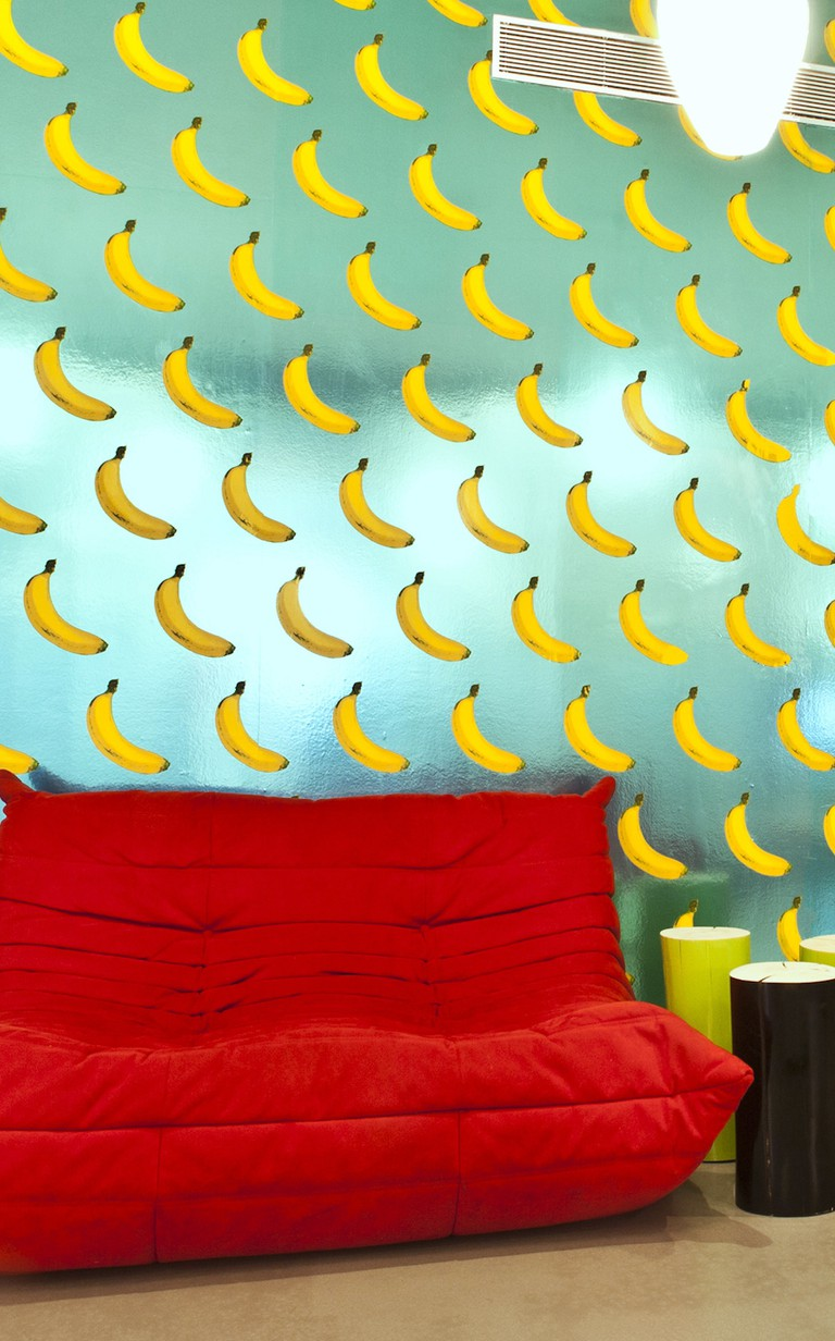 Scratch & Sniff wallpaper from The Fruit Cocktail Collection
