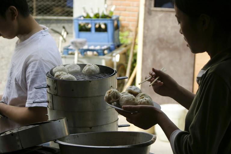 Breakfast Baozi