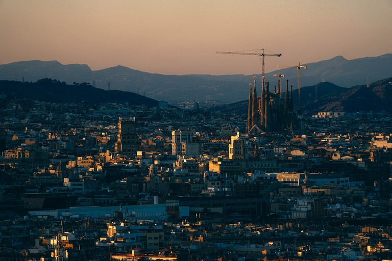 The Sagrada Familia still under construction CC0 Pixabay