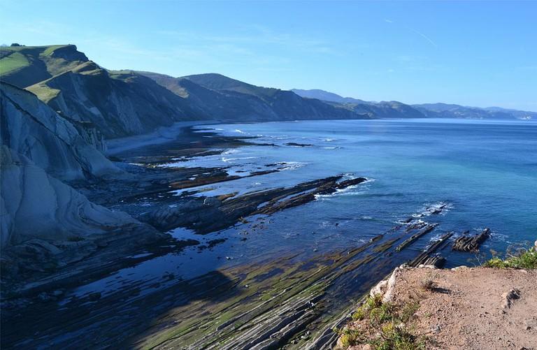 Basque Coast Geopark, Spain | ©Euskaldunaa / Wikimedia Commons