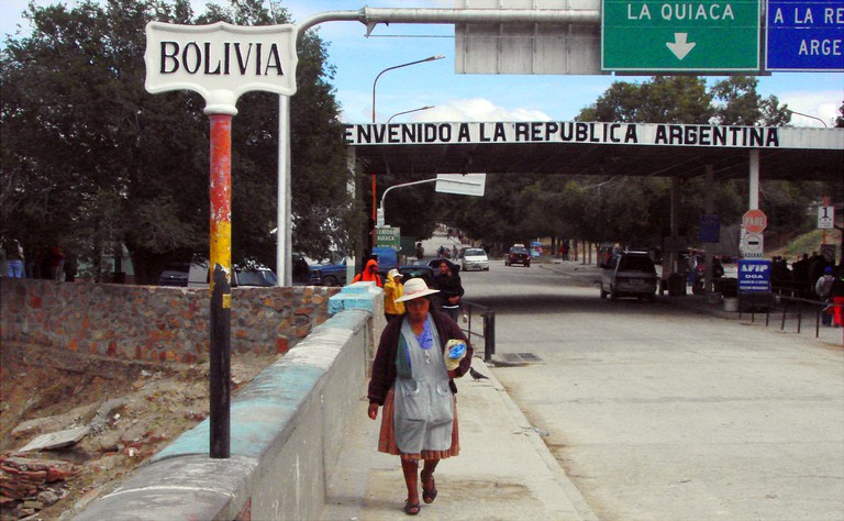 Bolivia/Argentina border |© edusierra/Wikipedia