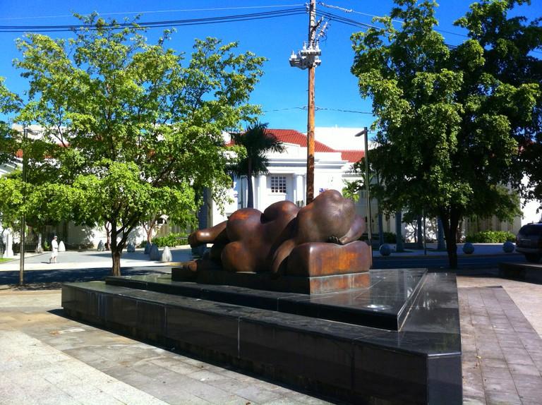 Botero sculpture in front of Puerto Rico Museum of Art | © Moebiusuibeom-en/ Wikimedia Commons