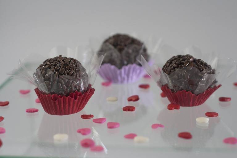 Brigadeiros are small Brazilian bites that pack big chocolate-y punch