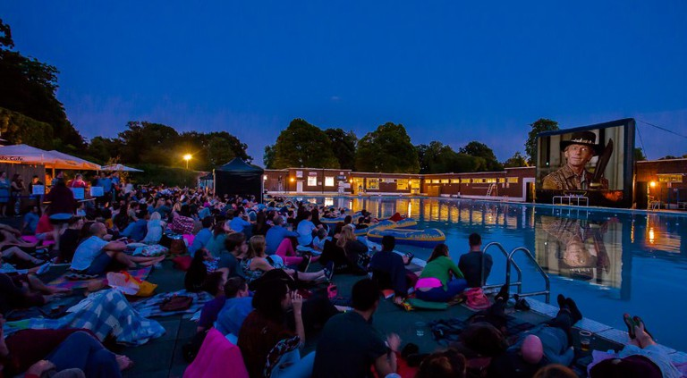 Brockwell Lido | © Riot Communications/Luna Cinema