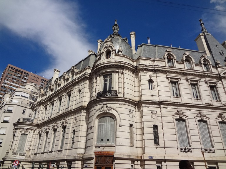 Neoclassical buildings are a common sight in Buenos Aires