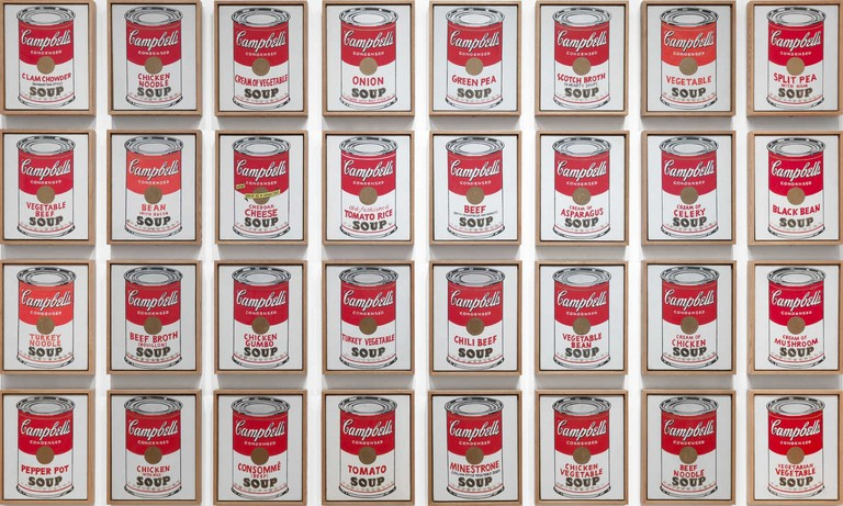 Campbell's Soup Cans | © 2017 Andy Warhol Foundation / ARS, NY