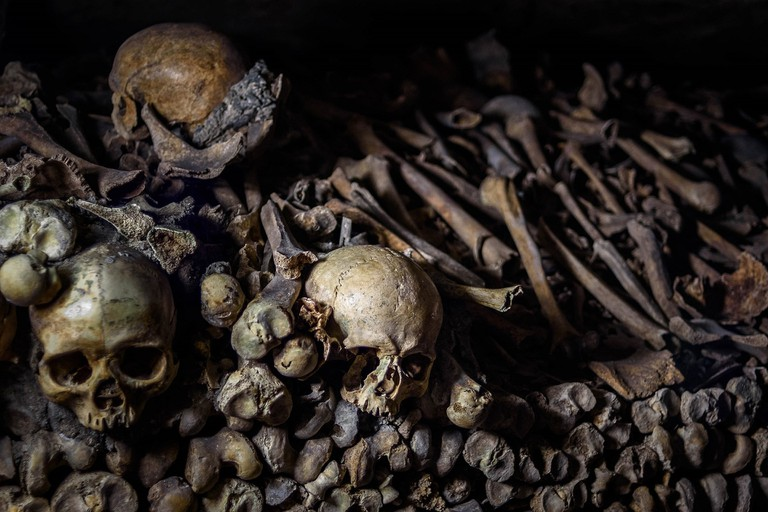 Catacombs de Paris │© skeeze / Pixabay