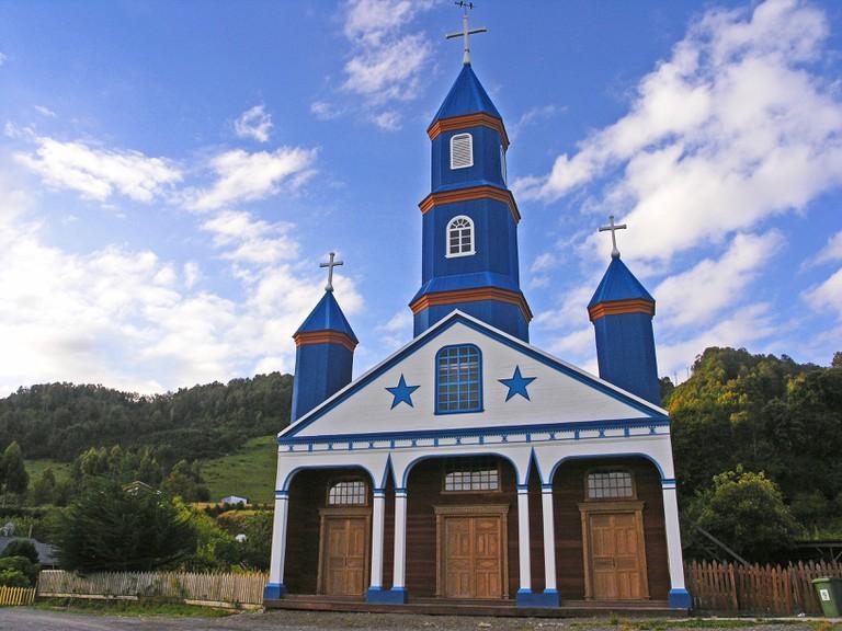 Chiloé Iglesia Tenaun I Courtesy of Turismo Chile
