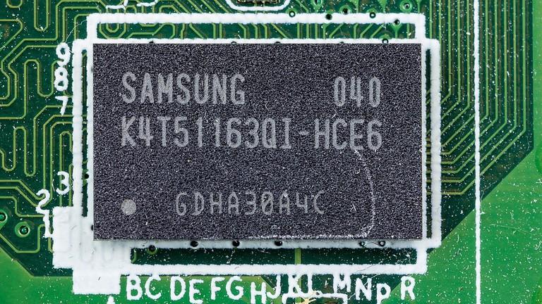 Samsung DRAM chip | © Raimond Spekking