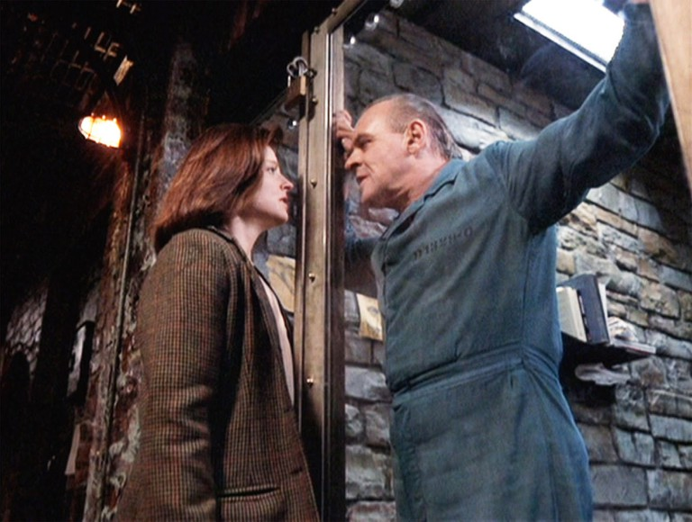 Jodie Foster and Anthony Hopkins in 'The Silence of the Lambs' | © Orion Pictures
