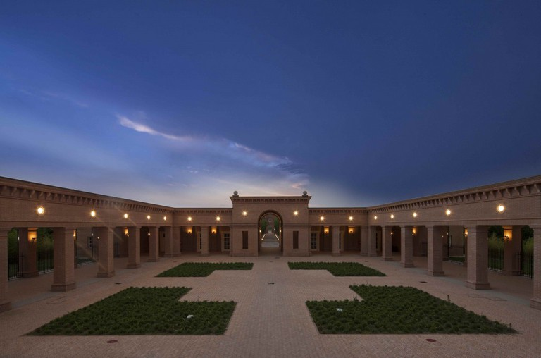The courtyard in the middle of the labyrinth | © Mauro Davoli / Fondazione Franco Maria Ricci
