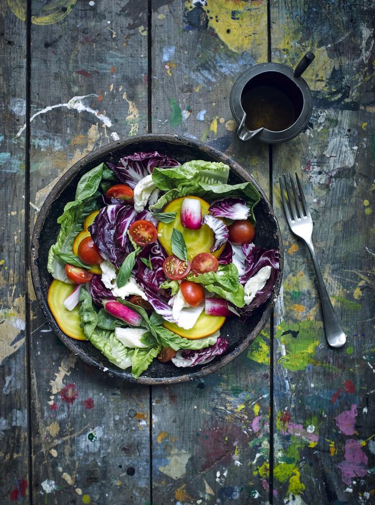 Marks & Spencer Food Portraiture: Salad Plate